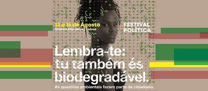 Festival Política 2020 - Lisboa