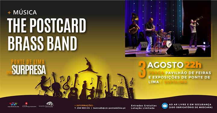 The Postcard Brass Band | Ponte de Lima é Uma Surpresa