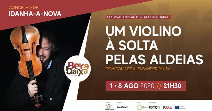 Um violino à solta pelas aldeias - Tomasz Aleksander Plusa