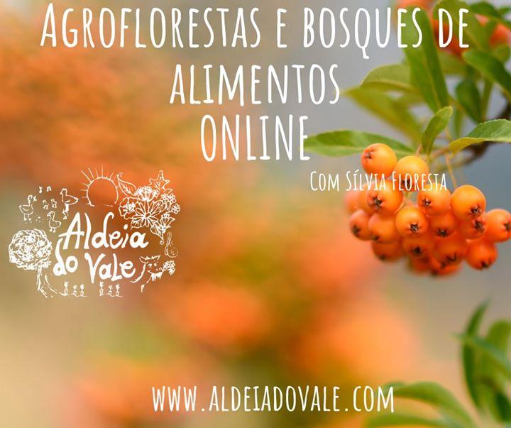 Agroflorestas e bosques de alimentos do Mediterrâneo ONLINE com Sílvia Floresta