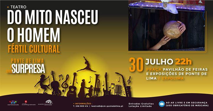 Do Mito Nasceu O Homem | Fértil Cultural (Teatro)