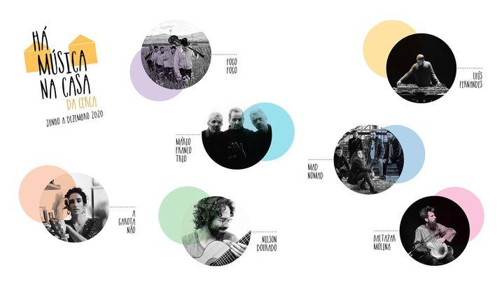 Mário Franco Trio ► transmissão Antena 2   Concerto Online