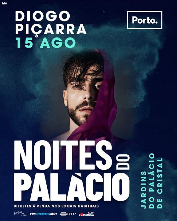 Noites do Palácio: Diogo Piçarra