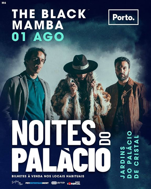 Noites do Palácio: The Black Mamba