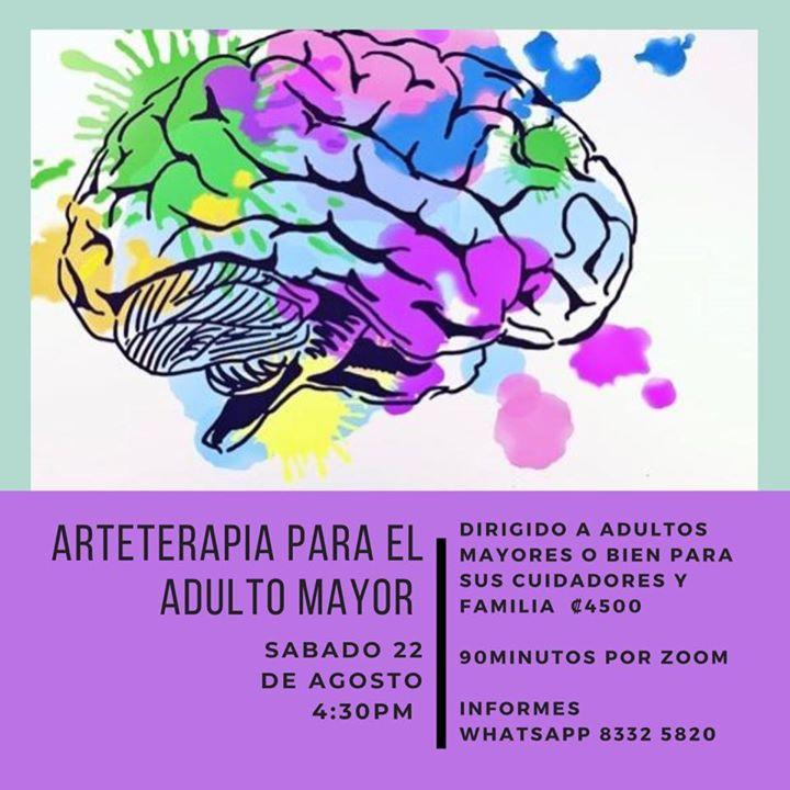 Arteterapia para Adulto Mayor