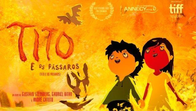 Cinema | Tito e os Pássaros, de Gustavo Steinberg, Gabriel Bitar e André Catoto