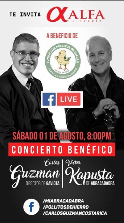 Concierto Benéfico: Carlos Guzman y Victor Kapusta