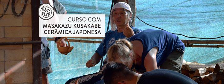 Curso com Masakazu Kusakabe Cerâmica japonesa  japanese ceramics