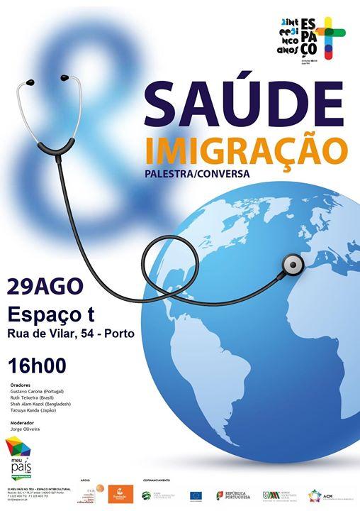Conversa/Palestra 'Saúde e Imigração'