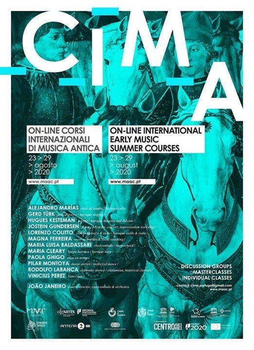 CIMA 2020 - Cursos Internacionais de Música Antiga