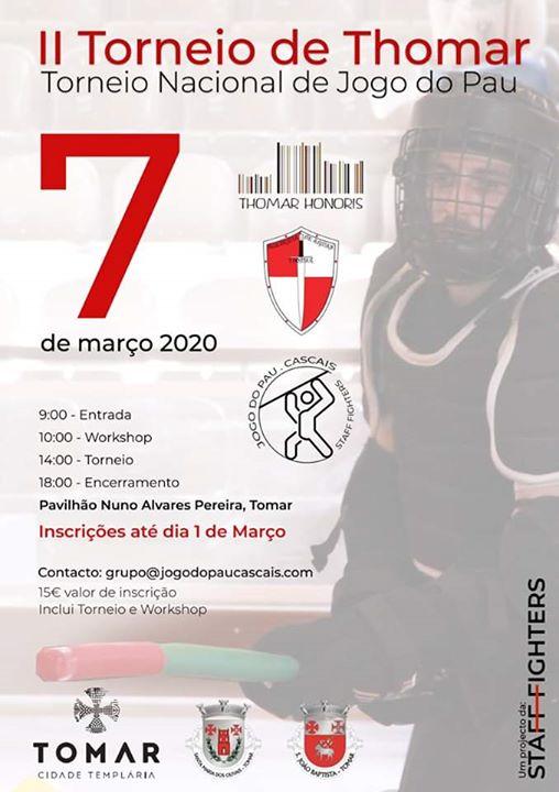II Torneio Jogo Do Pau Português - Thomar
