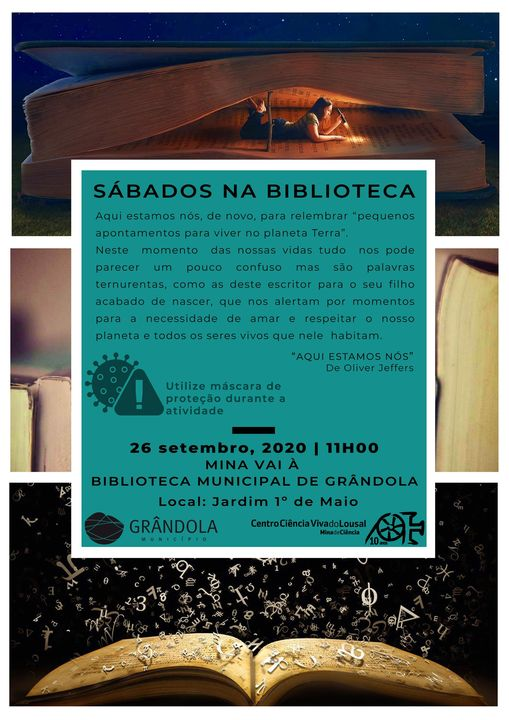 Sábado na Biblioteca de Grândola