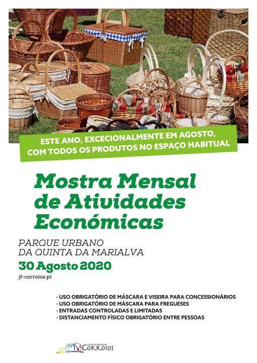 Mostra Mensal de Atividades Económicas