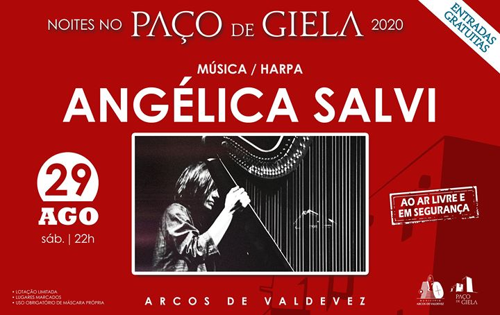 Noites no Paço: Angélica Salvi