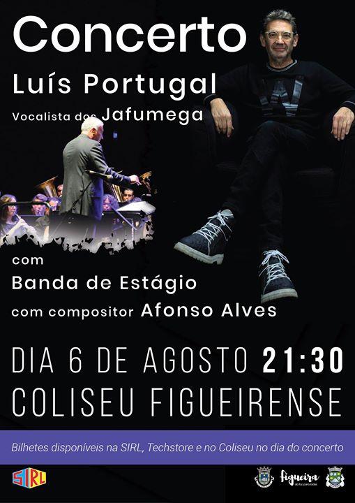 Concerto de Estágio com Luís Portugal, vocalista dos Jafumega