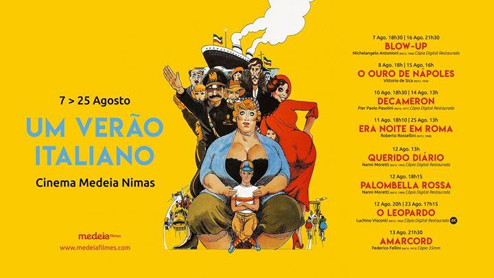 Ciclo de cinema 'Um Verão Italiano' | Cinema Nimas