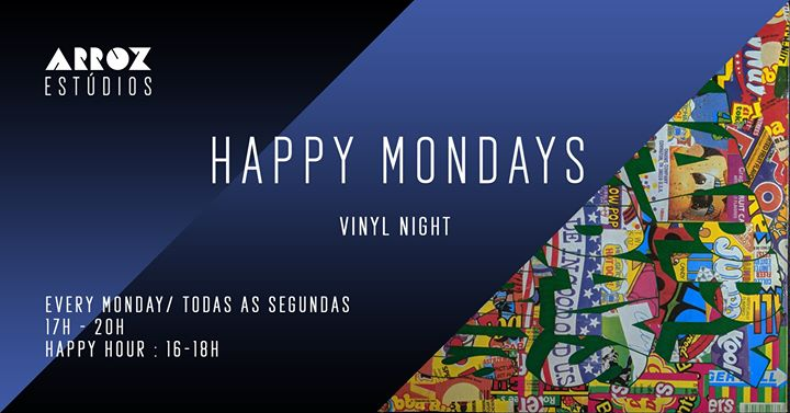 Happy Mondays :: Arroz Vinyl Night