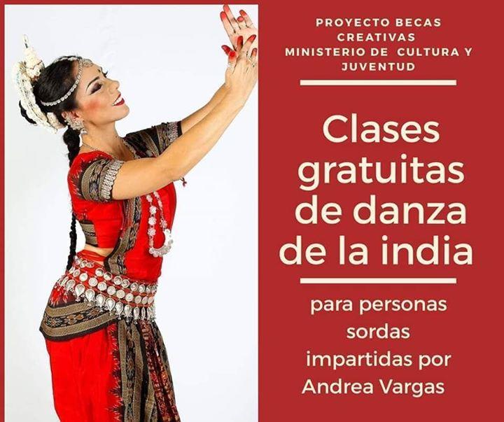 Curso Gratuito para Personas Sordas de Danza de la India