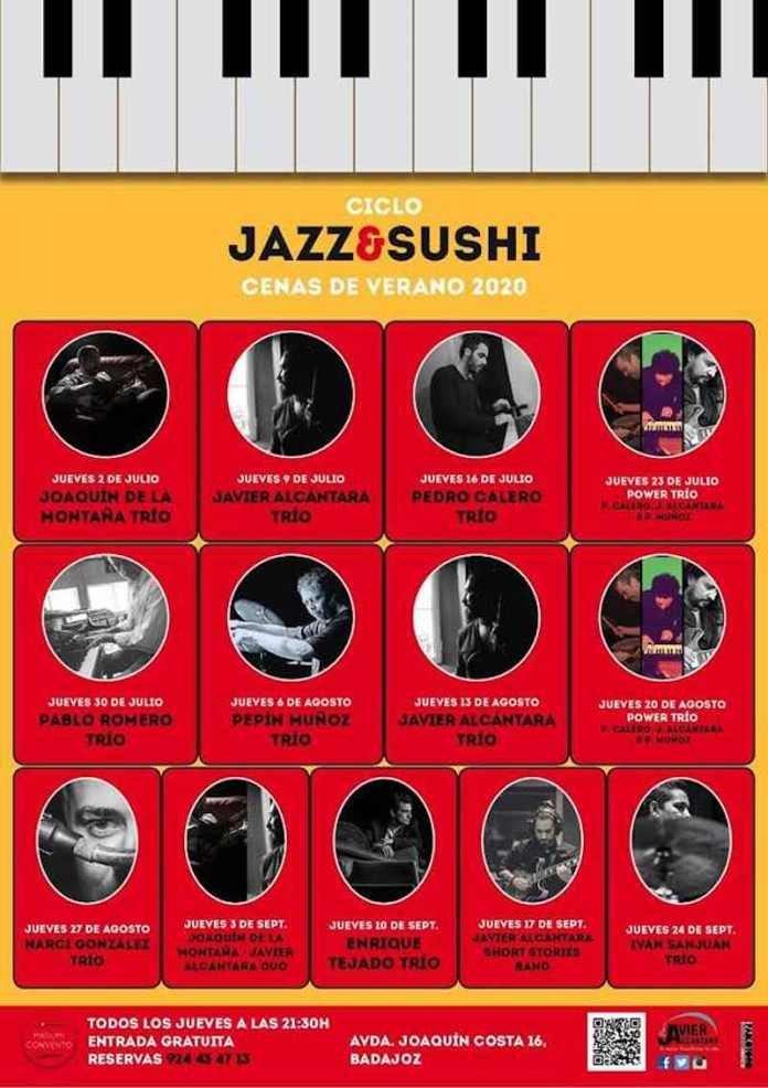 Jazz & Sushi, cenas de verano 2020