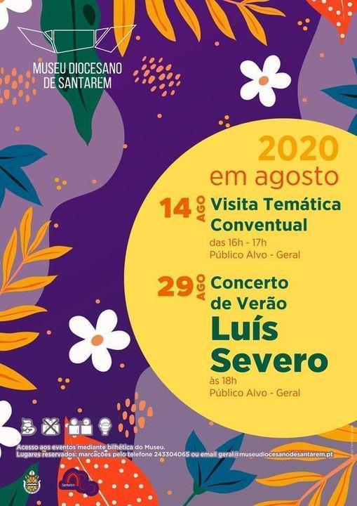 Concerto de Verão - Luís Severo (solo)