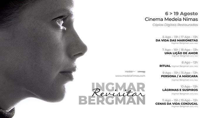 Revisitar Ingmar Bergman - Cópias Restauradas | Cinema Nimas