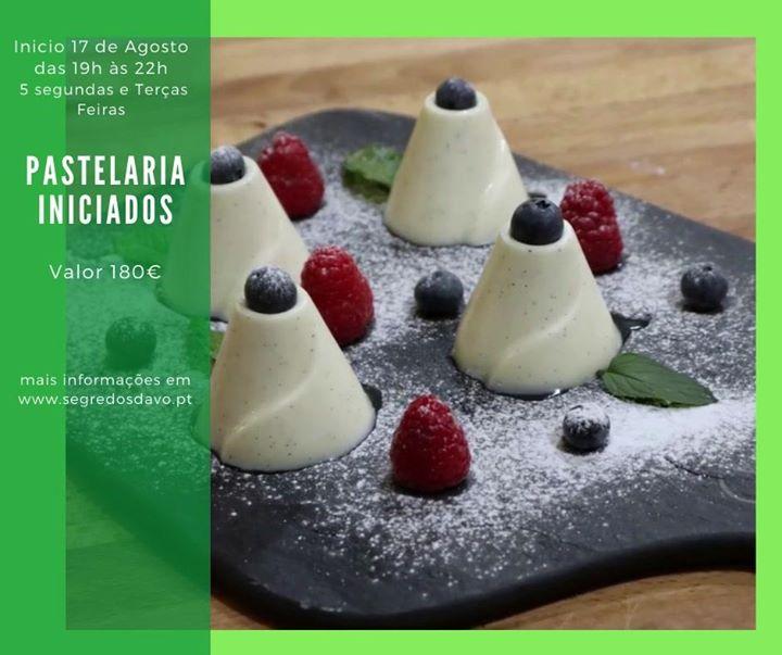 Pastelaria Iniciados - Pós Laboral - Vagas