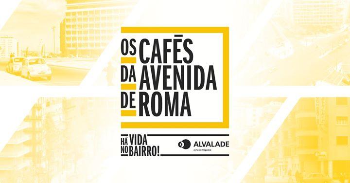 Passeios 'Os Cafés da Avenida de Roma'