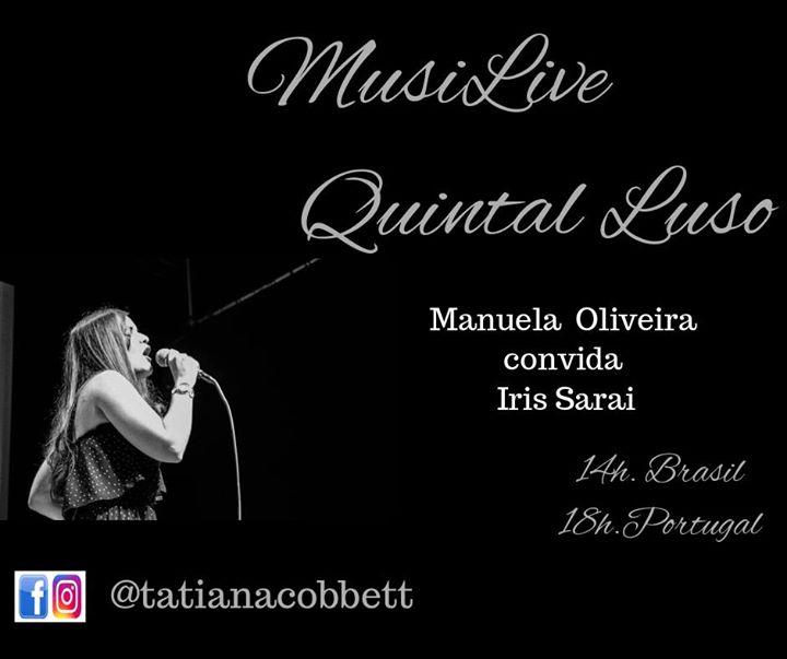 MusiLive Quintal Luso convida Manuela Oliveira