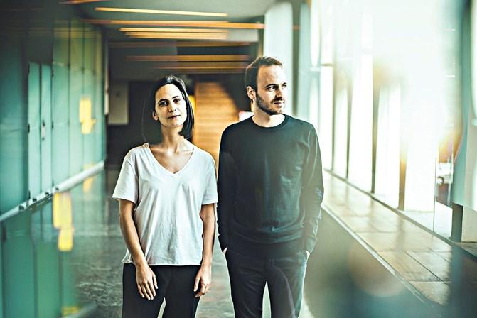 Joana Gama e Luís Fernandes- concerto de música eletrónica