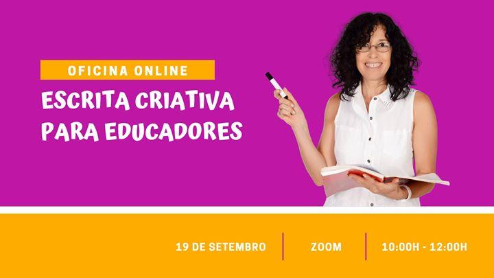 Oficina de escrita criativa para educadores