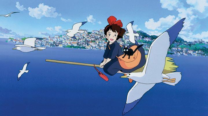 Animação de Verão - Cinema: Kiki, A Aprendiz de Feiticeira
