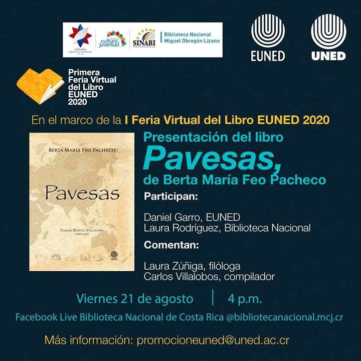 Presentación del libro 'Pavesas', de Berta María Feo Pacheco