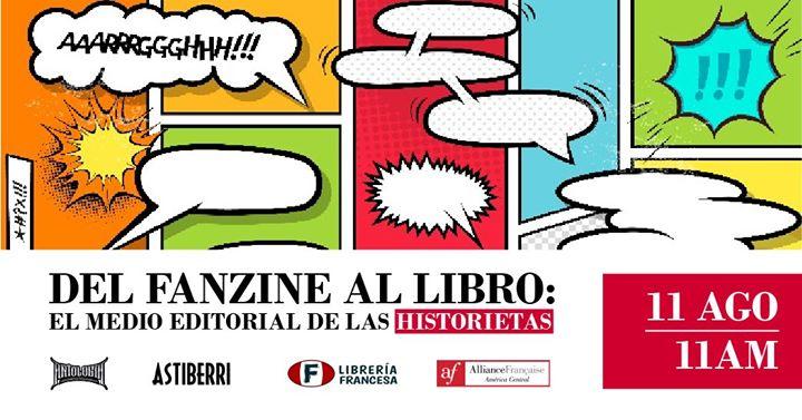 Charla 'Del fanzine al libro: editar y publicar historietas'