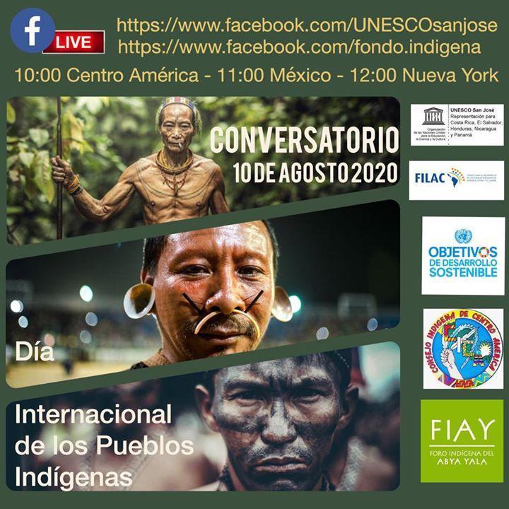 Conmemoración del Día Internacional de los Pueblos Indígenas.