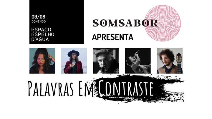 SomSabor apresenta: Palavras em Contraste