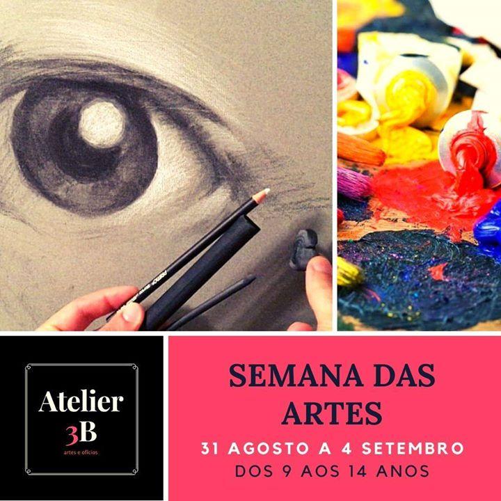 Semana das Artes - Desenho e Pintura a Óleo para crianças