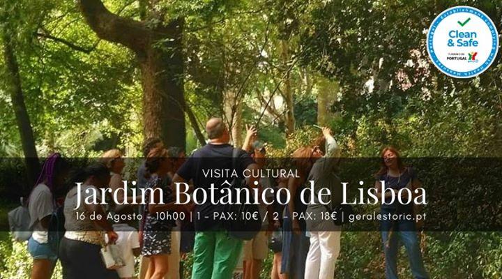 Visita ao Jardim Botânico de Lisboa