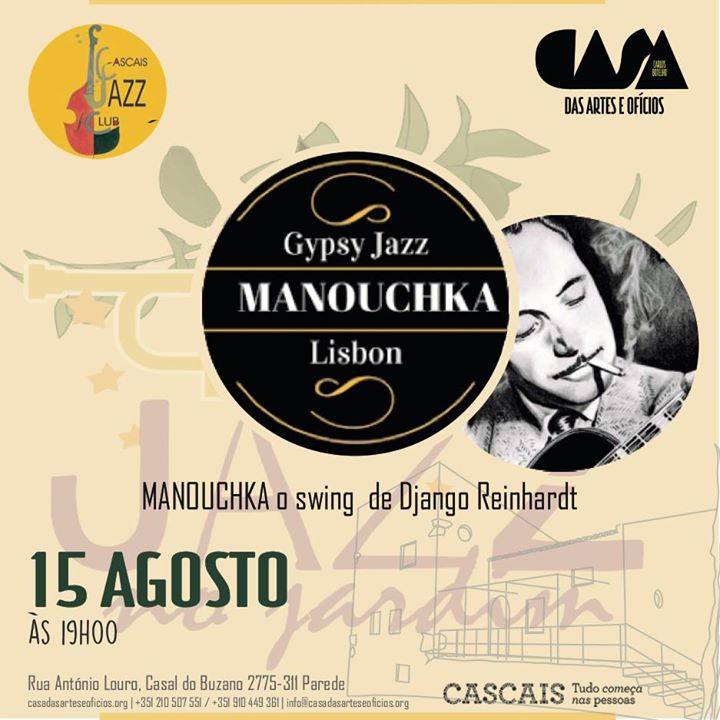 Concerto Manouchka o swing de Django Reinhardt
