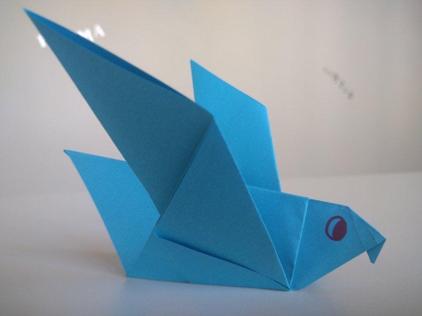 Oficina de histórias com origamis