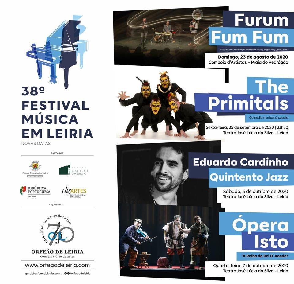 38.º Festival Música em Leiria: Novas datas