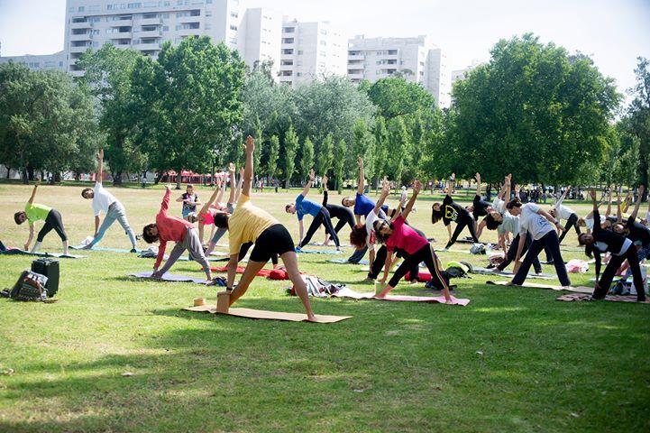 Constrói a tua pratica diária - Workshop de Yoga ao ar livre.