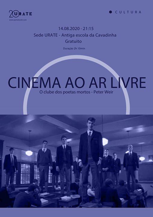 Cinema ao ar livre | O clube dos poetas mortos