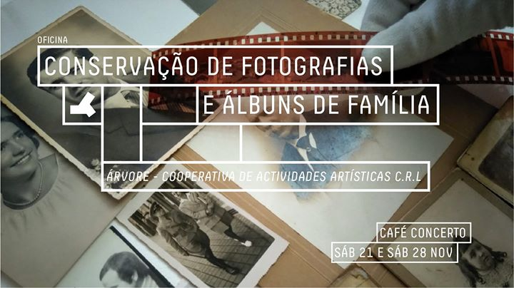 Oficina de Conservação de Fotografias e Álbuns de Família