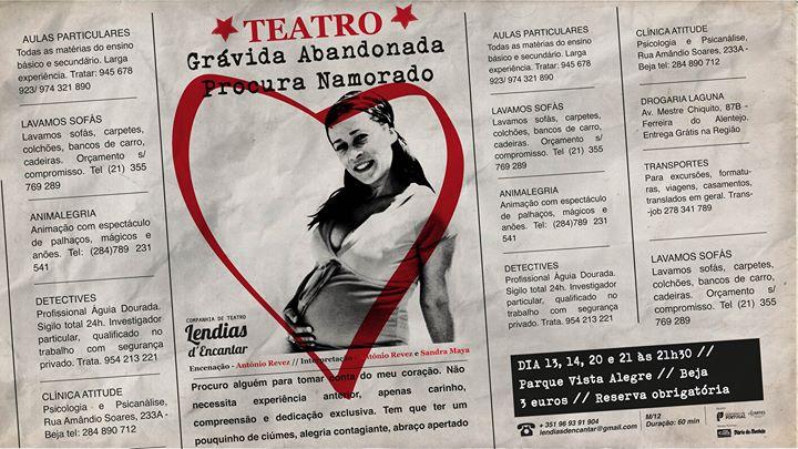 Teatro - Grávida Abandonada procura namorado!
