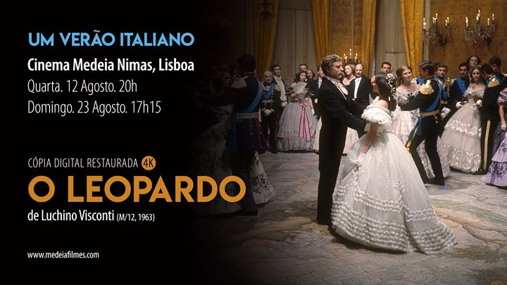O Leopardo, de Luchino Visconti - Cópia Restaurada 4K