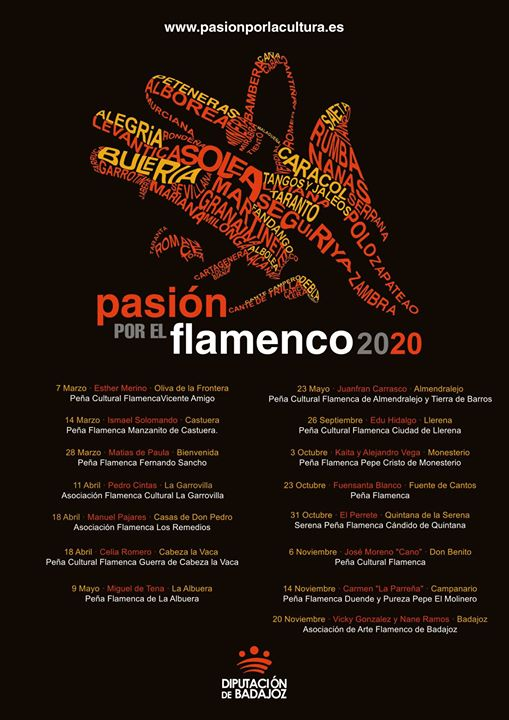 Pasión por el flamenco 2020   Edu Hidalgo