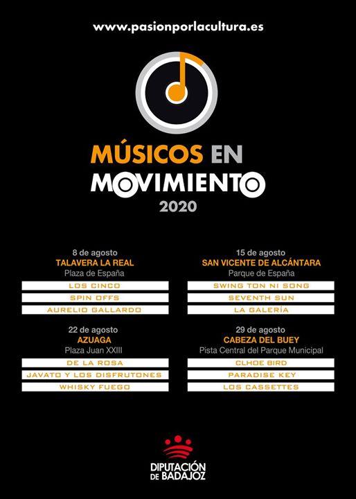 Músicos en movimiento 2020 | Concierto en Cabeza del Buey