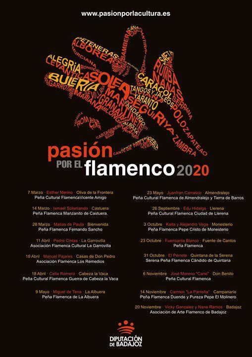 Pasión por el flamenco 2020 | José Moreno «Cano»
