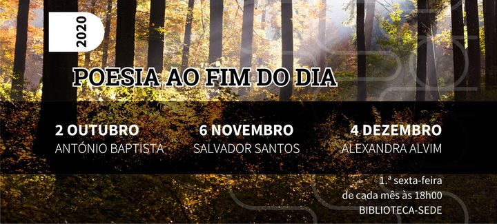 Poesia ao Fim do Dia por Salvador Santos