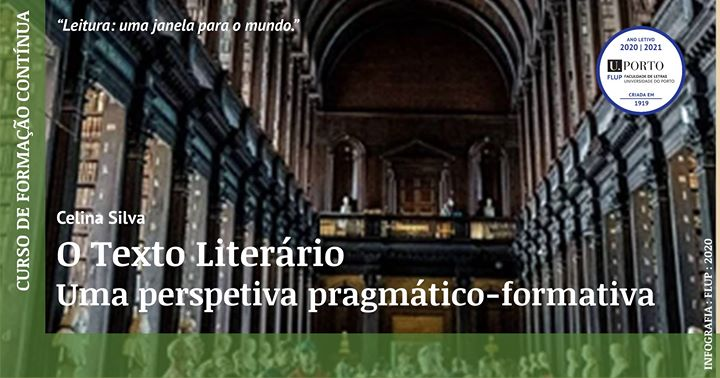 O Texto Literário, uma perspetiva pragmático-formativa
